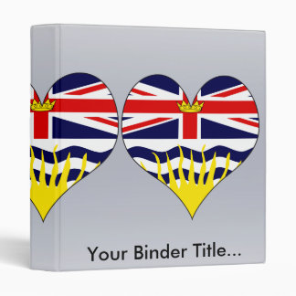 I Love Canada British Columbia Binder