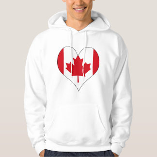 I Love Canada Hoodie