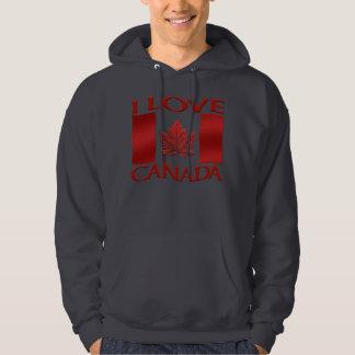 I Love Canada Hoodie Souvenir Canada Sweatshirt