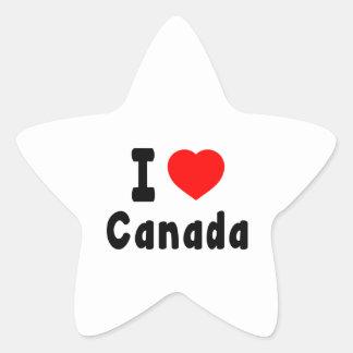 I Love Canada. Stickers
