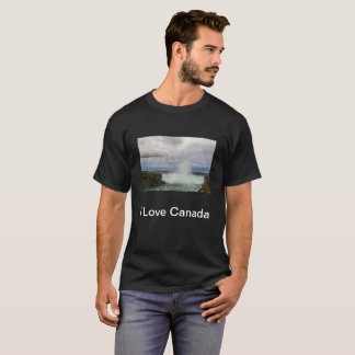 I Love Canada T-shirt with the Niagara Falls