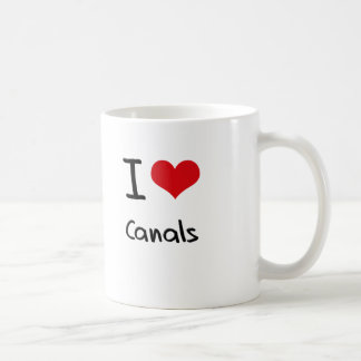 I love Canals Coffee Mug