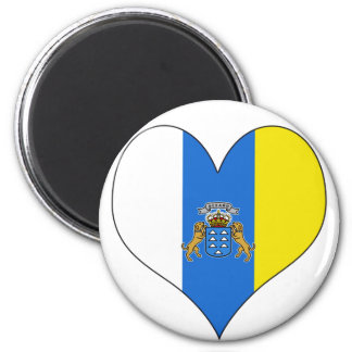 I Love Canary Islands Magnet