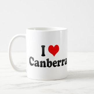 I Love Canberra, Australia Coffee Mug