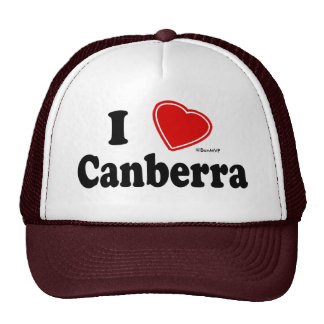 I Love Canberra Trucker Hat