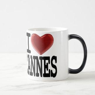 I Love CANNES Magic Mug