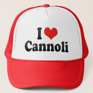 I Love Cannoli Trucker Hat