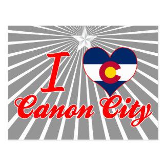 I Love Canon City, Colorado Post Cards