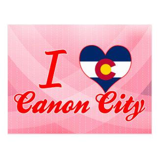 I Love Canon City, Colorado Post Card