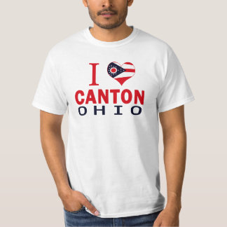 I love Canton, Ohio T-Shirt