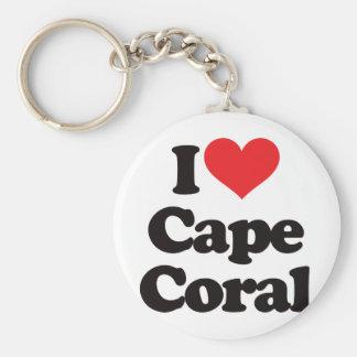 I Love Cape Coral Keychain