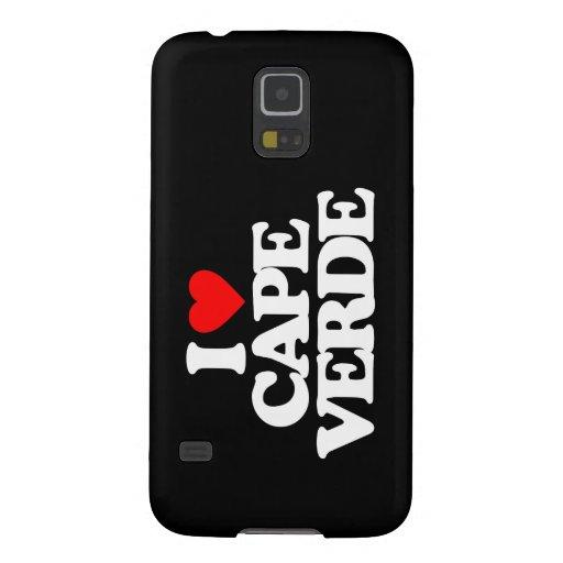 I LOVE CAPE VERDE SAMSUNG GALAXY NEXUS CASE