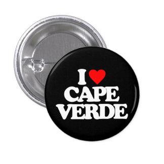 I LOVE CAPE VERDE PIN