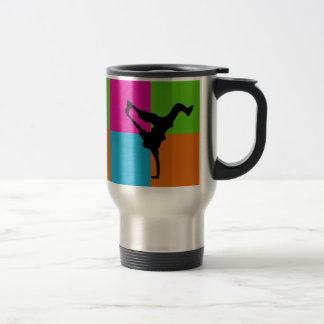 I love capoeira - homeware travel mug