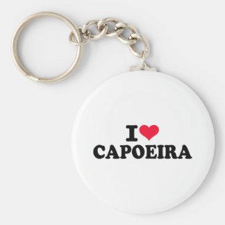 I love Capoeira Keychain