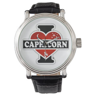 I Love Capricorn Wrist Watch