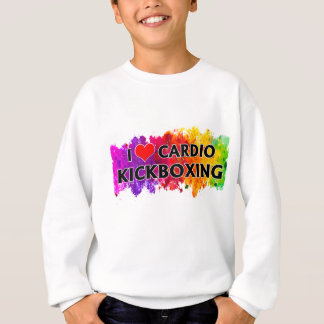 I Love Cardio Kickboxing Sweatshirt