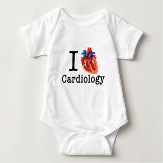 I love Cardiology Baby Bodysuit