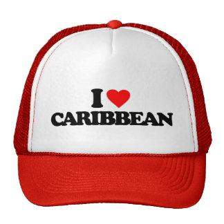 I LOVE CARIBBEAN HATS