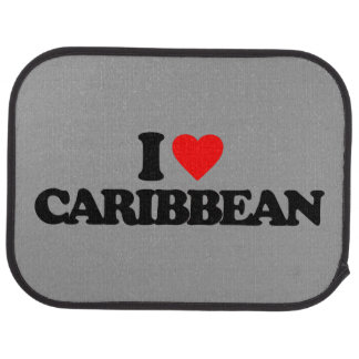 I LOVE CARIBBEAN FLOOR MAT