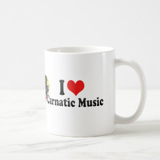 I Love Carnatic Music Coffee Mug
