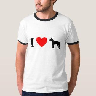 I Love Carolina Dogs Ringer TShirt