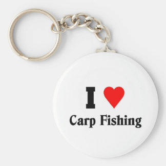 I love Carp Fishing Keychain