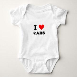 I Love Cars Baby Bodysuit