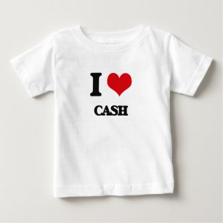 I love Cash Baby T-Shirt