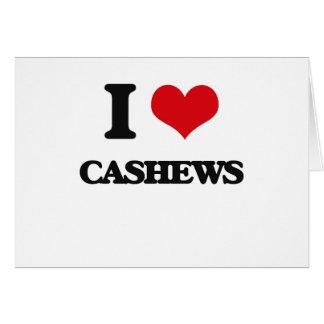I love Cashews Card