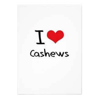 I love Cashews Custom Invites