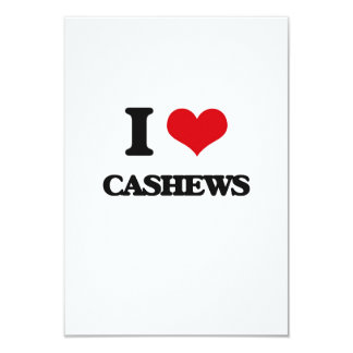 I love Cashews Announcement Cards