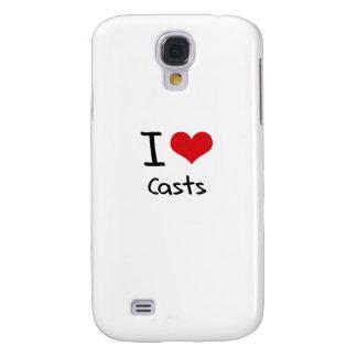 I love Casts Samsung Galaxy S4 Case