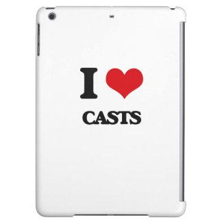 I love Casts iPad Air Cases