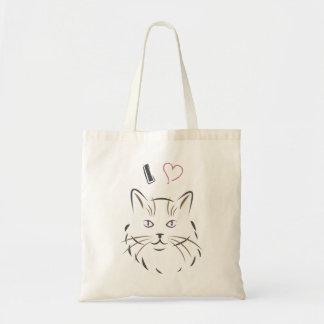 I Love Cat - Bag