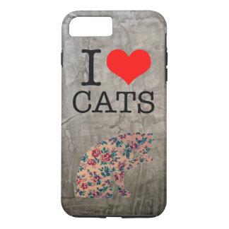 I love cat iPhone 7 case , Loft texture