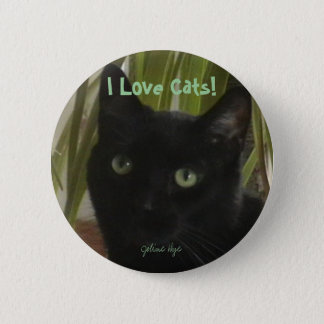 I Love Cats! 2 Inch Round Button