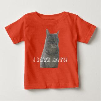 I LOVE Cats Baby T-Shirt