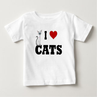 I love Cats Baby T-Shirt