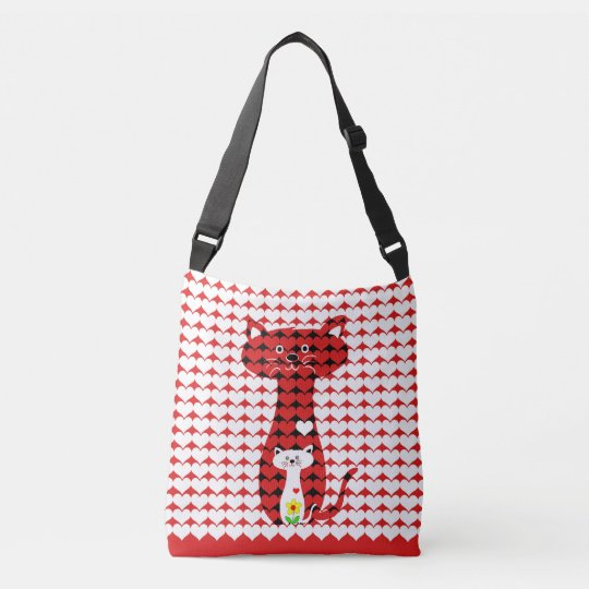 I Love Cats Crossbody Bag