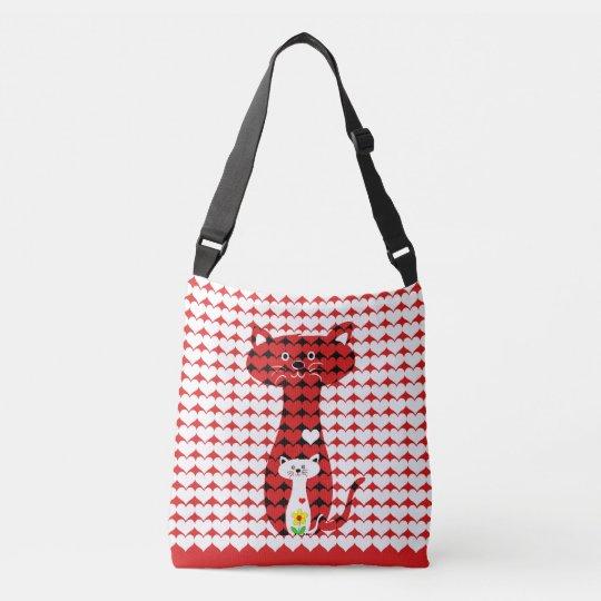 I Love Cats Crossbody Bag
