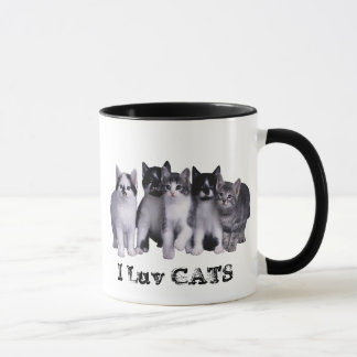 I love Cats from Junglewalk.com Mug