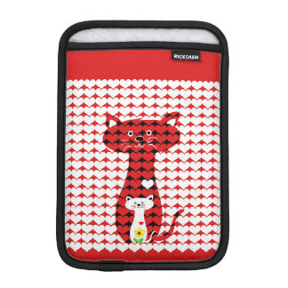 I Love Cats iPad Mini Sleeve