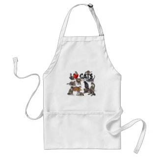 I love Cats Standard Apron
