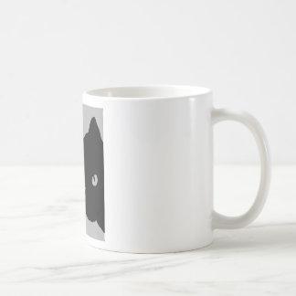 I LOVE CATS TSHIRT Happy Fun Text  & Red Heart Coffee Mug