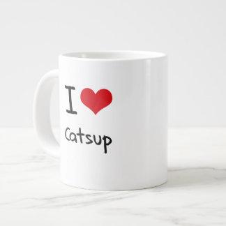 I love Catsup Jumbo Mug