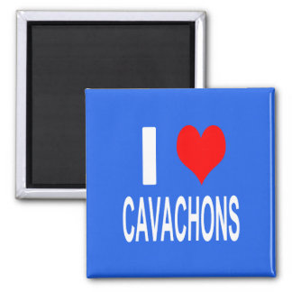 I Love Cavachons Magnet, Dog Magnet