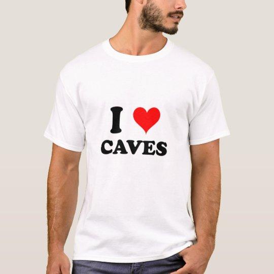 I Love Caves T-Shirt