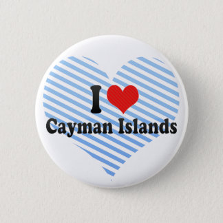 I Love Cayman Islands 2 Inch Round Button
