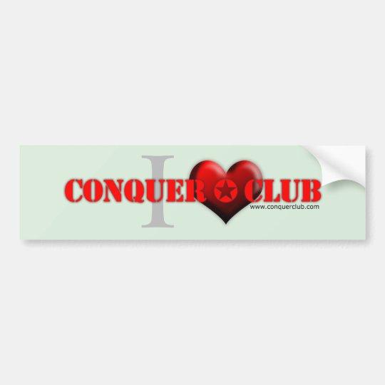 I Love CC Bumper Sticker